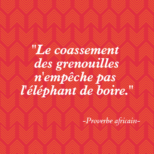 proverbe africain 2018