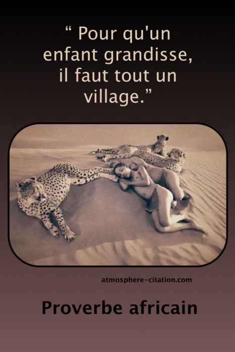 proverbe africain bebe