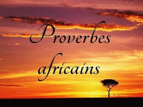 proverbe africain comique