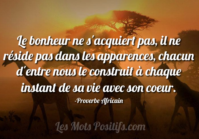 proverbe africain le temps