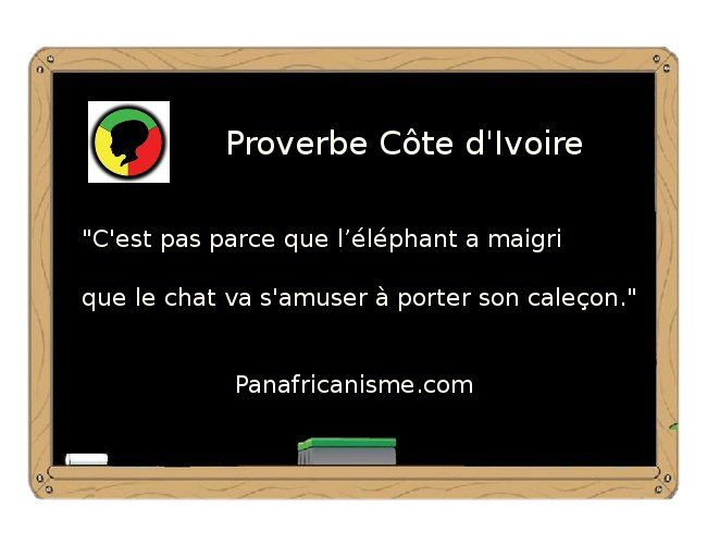 proverbe africain marrant