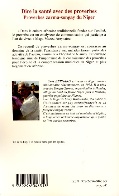 proverbe africain niger