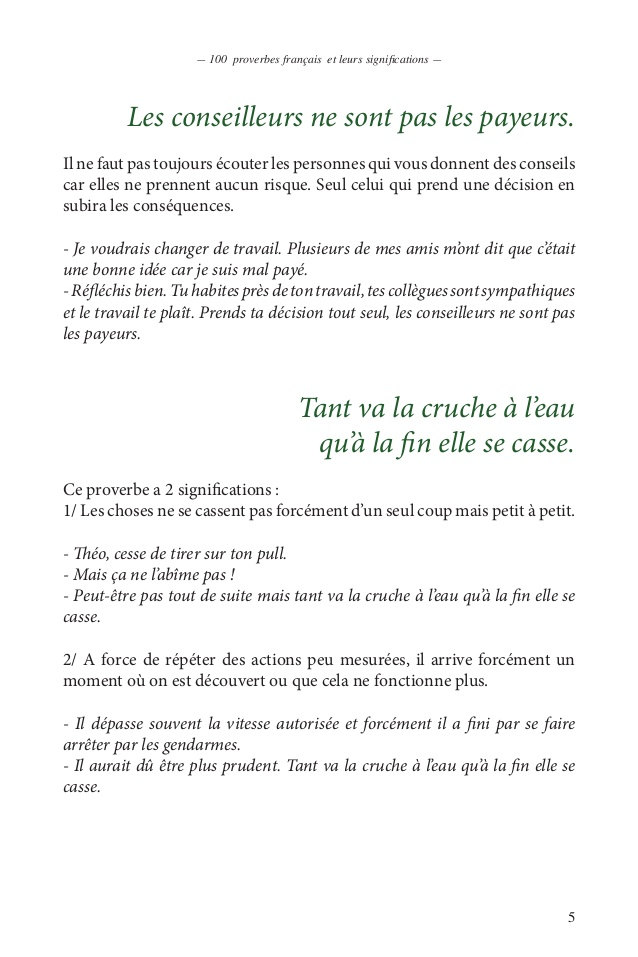 proverbe africain pdf