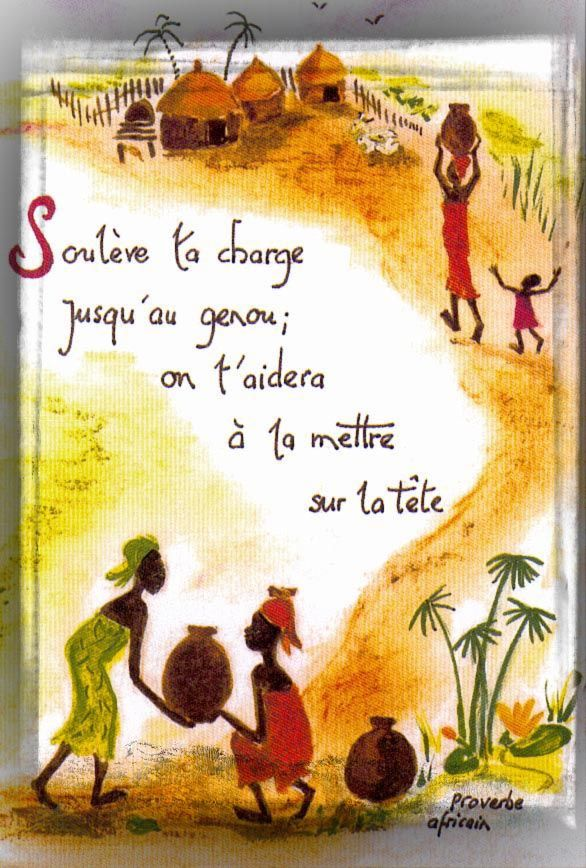 proverbe africain route