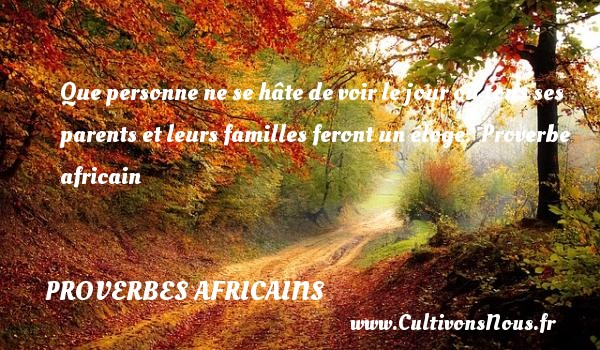 proverbe africain terre