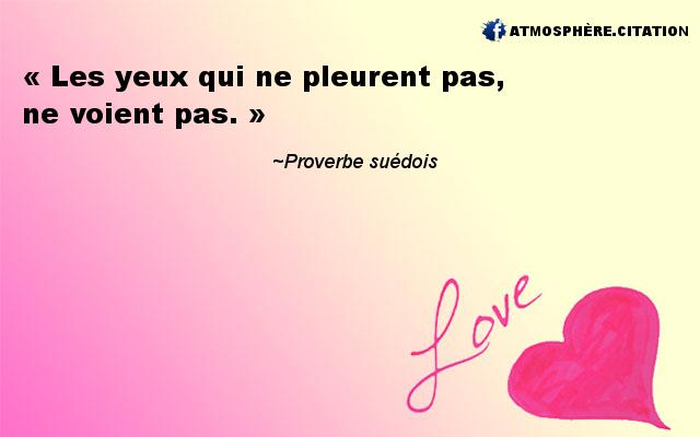 proverbe africain yeux