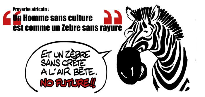 proverbe africain zebre