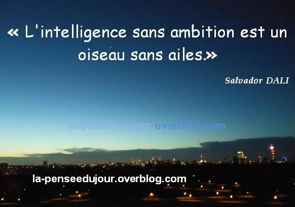 proverbe ambition