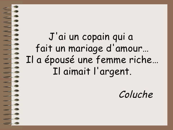 proverbe amour argent