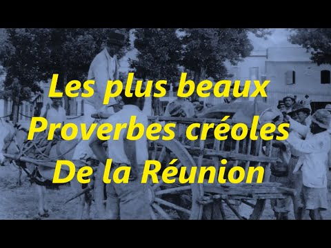 proverbe amour creole