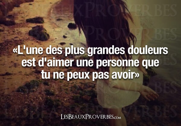 proverbe amour impossible
