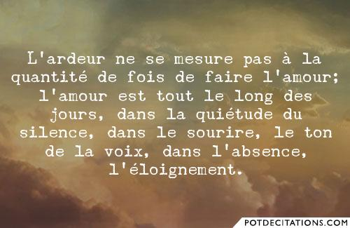 proverbe amour incertain