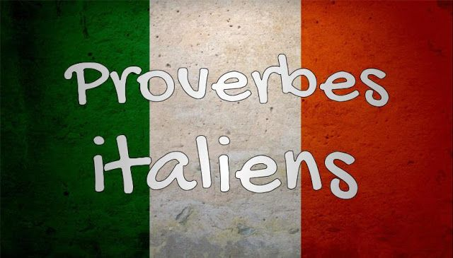 proverbe amour italien