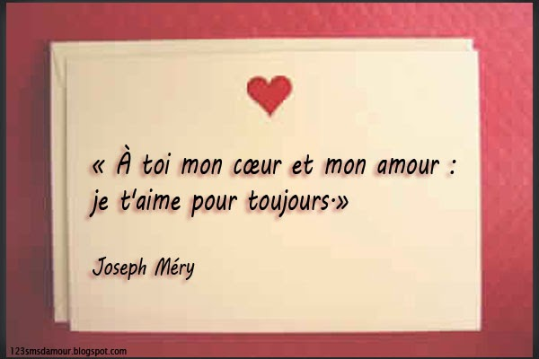 proverbe amour je t'aime