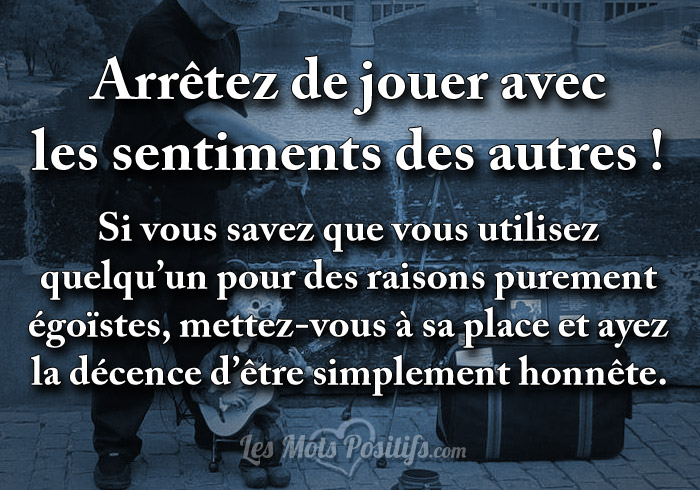 proverbe amour jouer