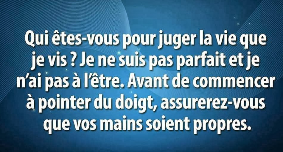proverbe amour jugement