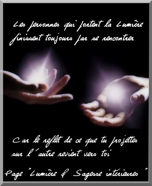 proverbe amour lumiere