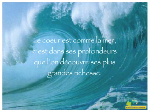 proverbe amour mer