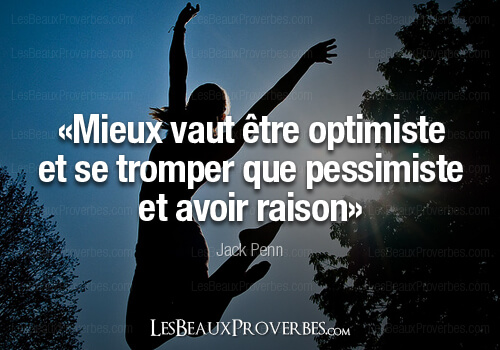 proverbe amour optimiste