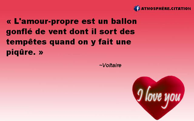 proverbe amour propre