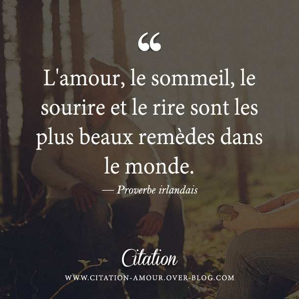 proverbe amour rire