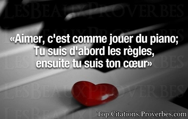 proverbe amour solide