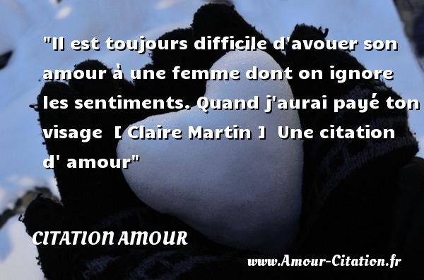 proverbe amour toujours