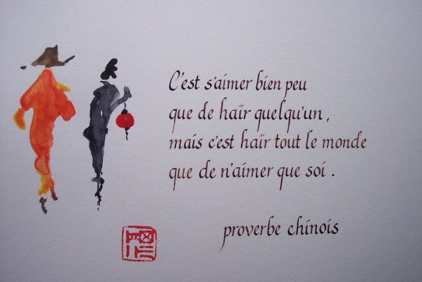 proverbe chinois bien etre