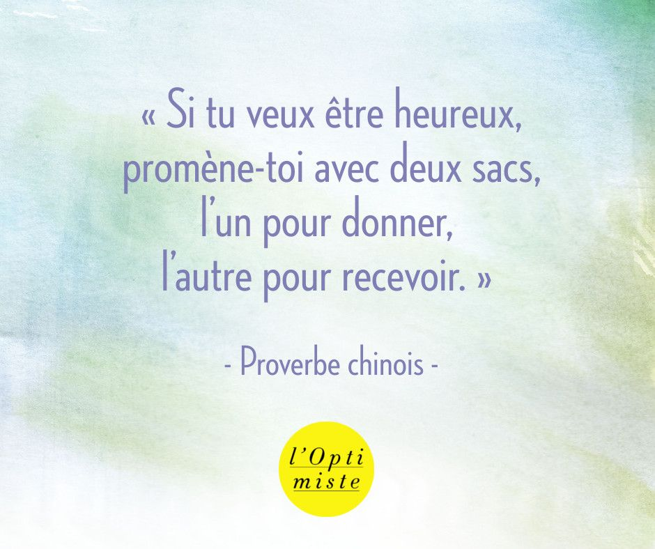 proverbe chinois donner
