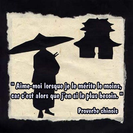 proverbe chinois ete