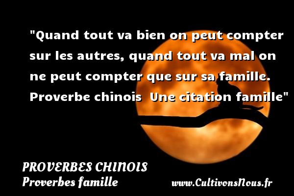 proverbe chinois fete des meres