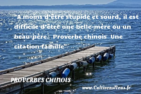 proverbe chinois fete