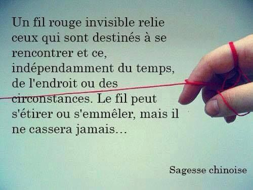 proverbe chinois fil rouge