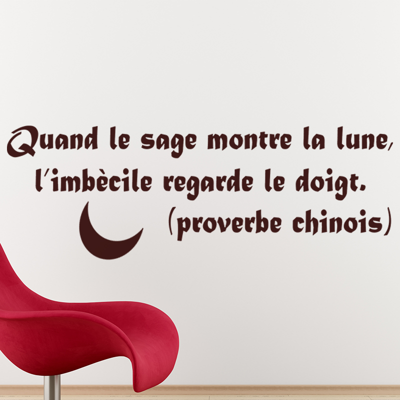 proverbe chinois homme sage