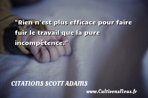 proverbe chinois incompetence