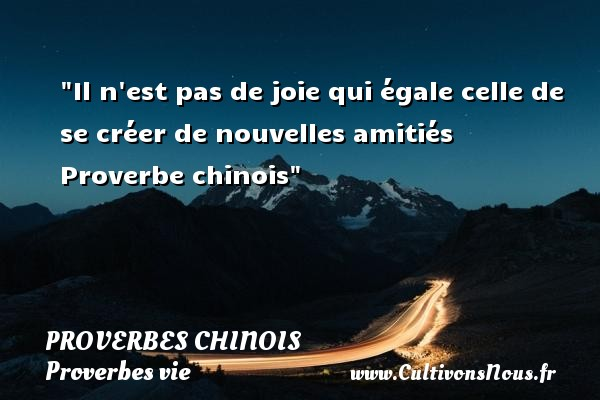 proverbe chinois joie