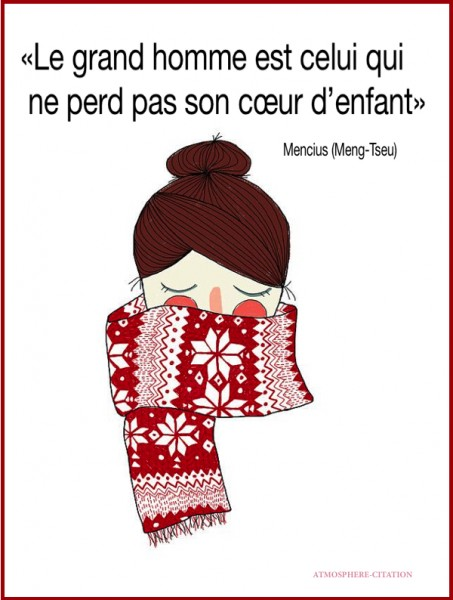 proverbe chinois noel