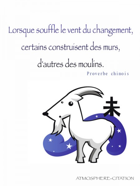 proverbe chinois nouvelle annee 2018
