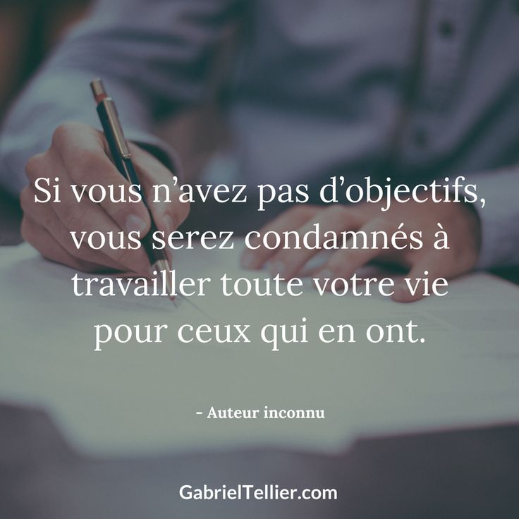 proverbe chinois objectif