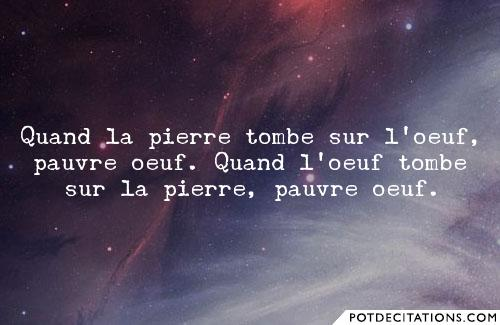 proverbe chinois oeuf