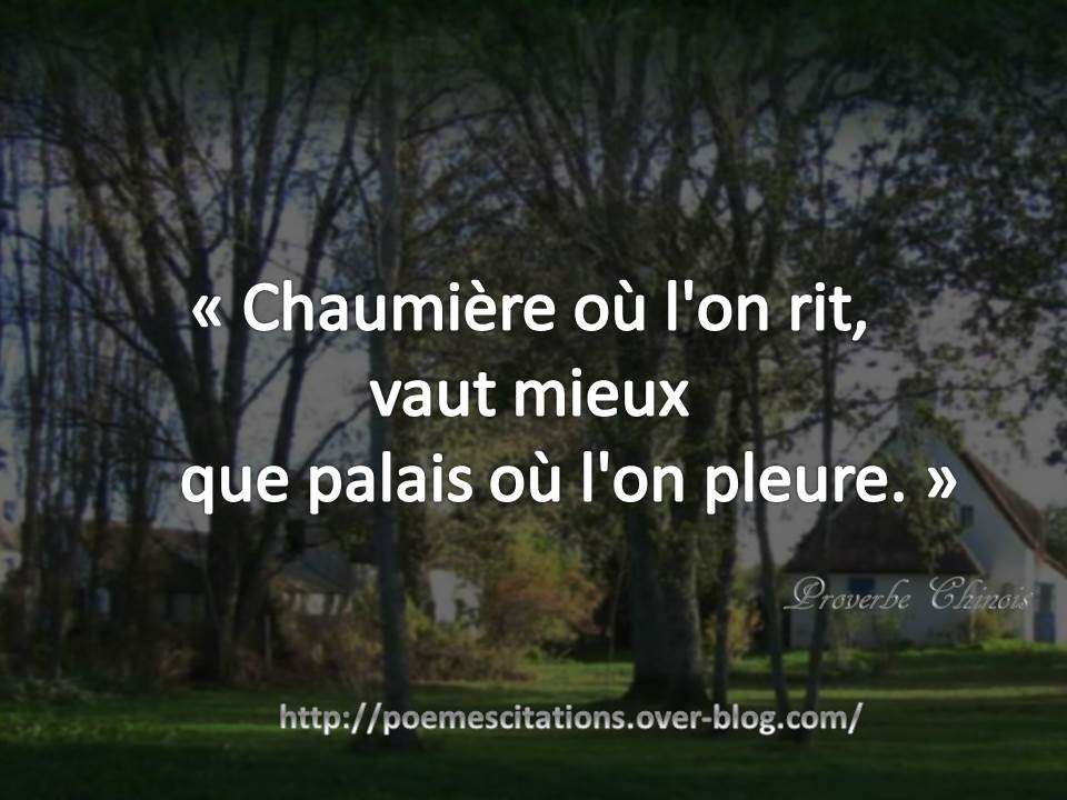 proverbe chinois pet