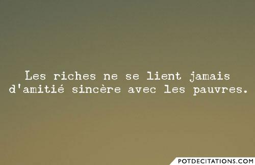 proverbe chinois quand les riches maigrissent