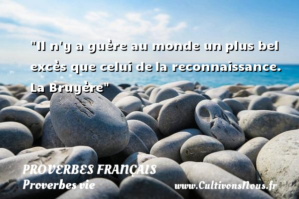 proverbe chinois reconnaissance