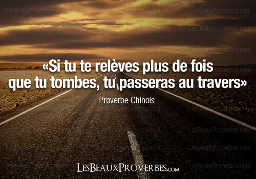 proverbe chinois reussite
