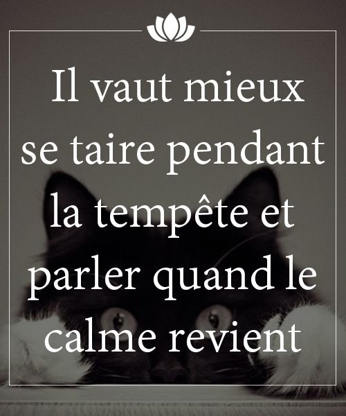 proverbe chinois se taire