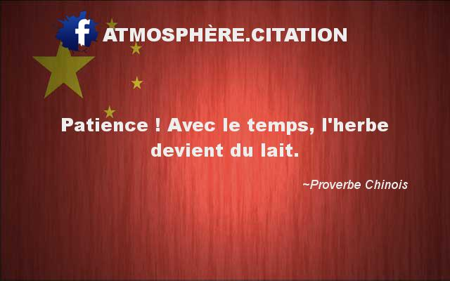 proverbe chinois union