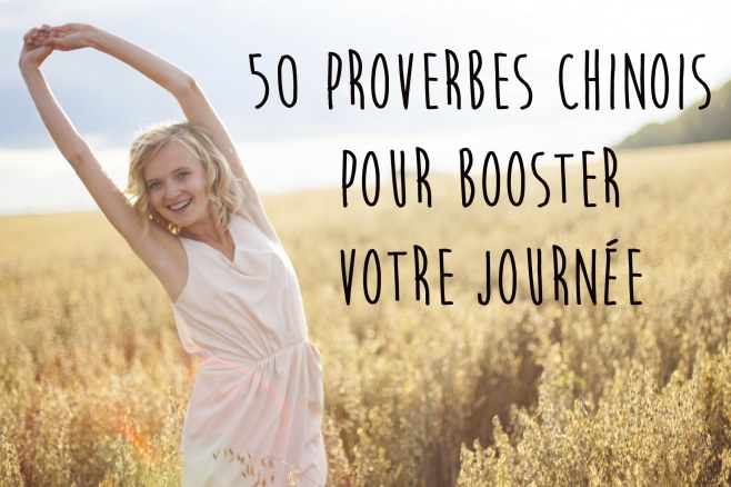 proverbe chinois vacances
