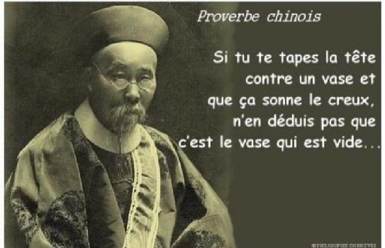 proverbe chinois vase