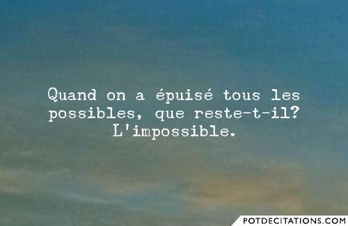 proverbe epuise