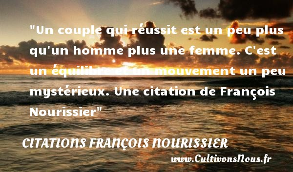 proverbe equilibre
